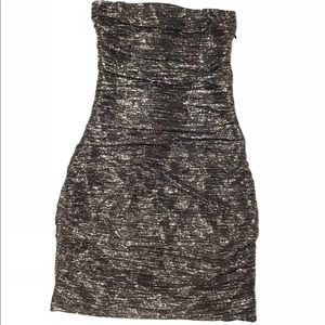 Black and silver dress  - Express